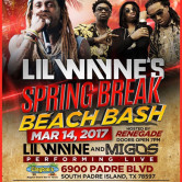 Lil Wayne Spring Break Beach Bash